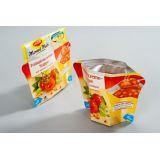 Compra de embalagens para condimentos na Vila Emir