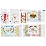 Distribuidor de saco plástico para pão de hot dog na Vila Invernada