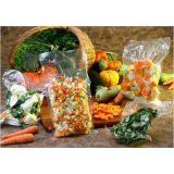 Embalagem a vácuo de alimentos na Chácara São Luiz