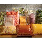 Embalagem alimentos congelados coextrusado na Água Fria