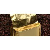 Embalagem aluminizada de cafe na Cidade Monções