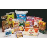 Embalagem de polietileno em alimento na Vila Dona América
