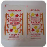 Embalagem descartável para hot dog no Parque Cruzeiro do Sul