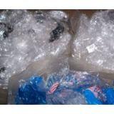 Embalagem em polietileno reciclado no Jardim Jordanópolis