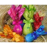 Embalagem para ovos no Jardim das Camélias