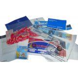 Embalagem para revistas impresso no Jardim Naufal