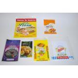 Embalagem plástica alimentos para vender na Vila Dalila