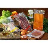Embalagem plástica para alimentos a vácuo na Aclimação