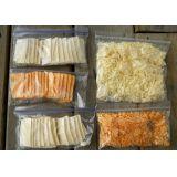 Embalagem plástica para amostra de alimentos no Jardim Japão