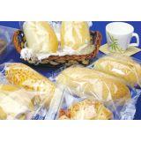 Embalagem transparentes flexíveis de pão no Jardim Ibira