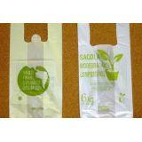 Embalagens biodegradáveis de mercado no Jardim Consórcio