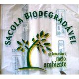 Embalagens biodegradáveis na Vila Ismênia
