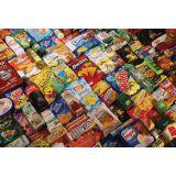Embalagens para alimentos no Conjunto Esmeralda