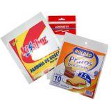 Embalagens personalizadas de alimento no Conjunto Fidalgo