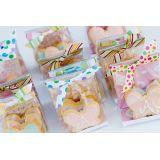 Embalagens plásticas de biscoitos no Jardim Eunice