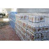 Filme shrink embalagem de cerveja no Sítio do Piqueri