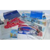 Indústria de embalagens plasticas colorida na Vila Baby