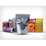 Modelo de embalagens flexível de material reciclado no Jardim Rubio