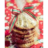 Modelo de embalagens para cookies no Jardim Tropical