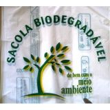 Modelo de embalagens plásticas biodegradáveis na Cidade Leonor