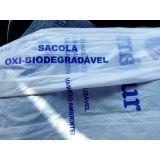 Plástico oxi biodegradavel para mercado no Jardim Miragaia
