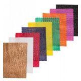 Plásticos para embalagem colorido no Conjunto Haddad
