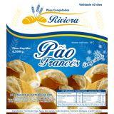 Rótulo plástico de embalagem para pães na Cidade Antônio Estevão de Carvalho
